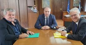 Μποναμάς 500.000 € στα Σφακιά μετά από επίσκεψη του Μ.Βολουδάκη & Μ.Χιωτάκη στο υπουργείο