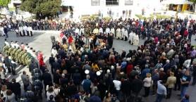 Πλήθος κόσμου στον εορτασμό των Εισοδίων της Θεοτόκου (φωτο+βιντεο)