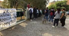 Συνεχίζεται η κατάληψη στο Γυμνάσιο Παλαιόχωρας (φωτο)
