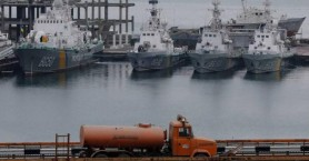 Η Μόσχα αρνείται ότι έκλεψε τις... τουαλέτες από τα τρία πλοία που επέστρεψε στην Ουκρανία