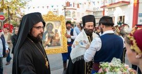 Τα Χανιά υποδέχτηκαν την Παναγία του Τιχβίν (φωτο)