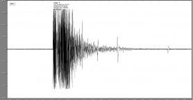 Βίντεο την ώρα της καταγραφής του σεισμού στα Χανιά από τον σεισμογράφο