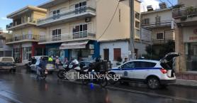 Αυτοκίνητο συγκρούστηκε με ντελιβερά στα Χανιά