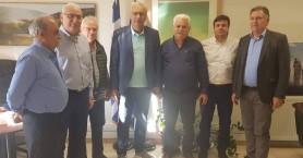 Τα προβλήματα του Δήμου Βιάννου σε επίσκεψη του Γ.Γ. του Υπ. Εσωτερικών