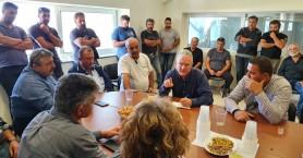 Επίσκεψη Μανούσου Βολουδάκη σε πληγείσες περιοχές σε Ελαφονήσι και Κουντούρα