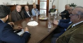 Συνάντηση Δημάρχου Χανίων με το Δ.Σ. της Ένωσης Συνταξιούχων νομού Χανίων