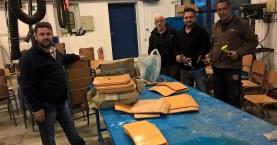 Μαθητές και καθηγητές του Εσπερινού ΕΠΑΛ Πλατανιά έκαναν επισκευές σε σχολικές μονάδες