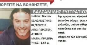 Τραγικό τέλος στην υπόθεση αναζήτησης του ηθοποιού Στράτου Βαλσαμίδη