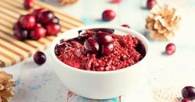 Μάσκα με cranberries για λαμπερή επιδερμίδα
