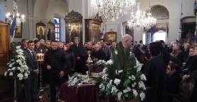 Σε κλίμα οδύνης συγγενείς και φορείς αποχαιρέτησαν τον Αντώνη Μπαλωμενάκη (φωτο)