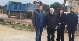 Στο Χορδάκι ο Δήμαρχος Χανίων και η Πρόεδρος της ΔΕΥΑΧ