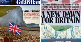 Ώρα μηδέν για το Brexit: Ενθουσιασμός αλλά και φόβος στα πρωτοσέλιδα του βρετανικού Τύπου