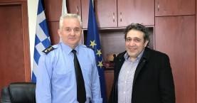 Για τις ανάγκες της Πυροσβεστικής συναντήθηκαν Ηγουμενίδης - Λαγουδάκης
