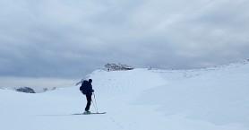Στο καταφύγιο Καλλέργη στα Χανιά μόνο με….σκι (φωτο)