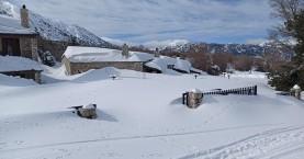Πολλά τα χιόνια στα Λευκά Όρη – Λίγα στην υπόλοιπη χώρα (πίνακες - βίντεο)