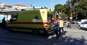 Αυτοκίνητο συγκρούστηκε με μηχανάκι στα Χανιά - Στο νοσοκομείο ο οδηγός του δικύκλου