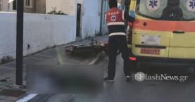 Νεκρός ο οδηγός του τροχαίου με μηχανάκι στα Χανιά (φωτο)