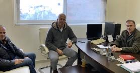 Συνάντηση Δημάρχου Ιεράπετρας με τον τέως Αστ/κο Δ/ντη Λασιθίου