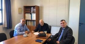 Συναντήσεις στο Υπουργείο Υποδομών είχε ο Γιάννης Μαλανδράκης για τη γέφυρα του Κερίτη