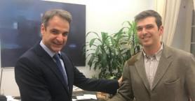 Δίπλα στον Πρωθυπουργό Κυριάκο Μητσοτάκη ο Αλέξανδρος Μαρκογιαννάκης!