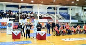 Με τους νταμπλούχους στο μπάσκετ με αμαξίδιο ο Λευτέρης Αυγενάκης