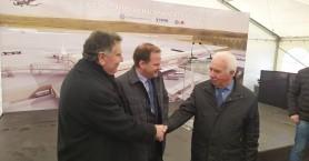 Στο Ηράκλειο ο Υπουργός υποδομών και μεταφορών (φωτο)