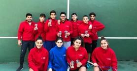 Εξαιρετική εμφάνιση ΟΑΧ στο 1ο Open Junior Πρωτάθλημα Squash