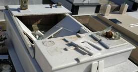 Βανδαλισμοί σε νεκροταφείο στην Κίσαμο (φωτο)