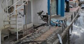 Αυτοκίνητο έπεσε πάνω σε τοίχο σπιτιού στα Χανιά (φωτο)