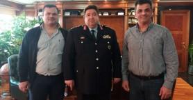Ένωση Αστυνομικών Υπαλλήλων Χανίων: Συνάντηση με τον Αρχηγό της ΕΛ.ΑΣ.