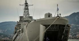 Αναχώρησε από τη Μυτιλήνη το αρματαγωγό «ΡΟΔΟΣ» με 450 πρόσφυγες – μετανάστες