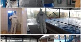 Απολύμανση στις εγκαταστάσεις του ΕΑΚΗ