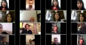 Συνεδρίαση με τηλεδιάσκεψη στο ΕΑΚΗ