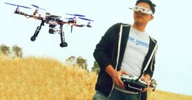 Γνωρίζοντας έναν Χανιώτη πιλότο FPV - Πώς είναι να οδηγείς ένα drone με 200χλμ/ώρα