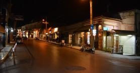 Πόλη-φάντασμα τα Χανιά λόγω κορωνοϊού (φωτο)
