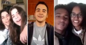 Mαθητές της Ιεράπετρας μένουν στο σπίτι και τραγουδούν εμπνέοντας αισιοδοξία (βιντεο)