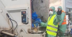 Στην πρώτη γραμμή τα στελέχη της καθαριότητας στο Μαλεβίζι