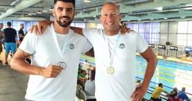 Διπλή εκπροσώπηση ΝΟΧ στην ημερίδα κολύμβησης βετεράνων