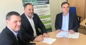 Συνάντηση Κουράκη με Πρόεδρο και Διευθύνοντα Σύμβουλο του Ελληνικού Οργανισμού Ανακύκλωσης