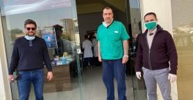 Στο χώρο αιμοδοσίας του Δήμου Μαλεβιζίου ο Μενέλαος Μποκέας