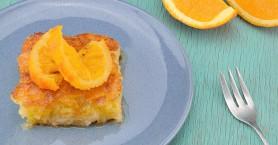 Σπιτική πορτοκαλόπιτα