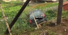 Χανιά: Αμάξι βρέθηκε σε χαντάκι στον Βλητέ