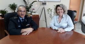 Παροχή μέσων ατομικής προστασίας από τη Διοίκηση της 7ης ΥΠΕ Κρήτης στην Πυροσβεστική