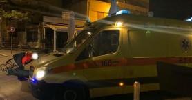 Ποδηλάτης έπεσε και τραυματίστηκε στο παλιό λιμάνι των Χανίων (φωτο)