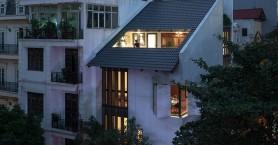 Το εφετζίδικο γωνιακό σπίτι του Ανόι