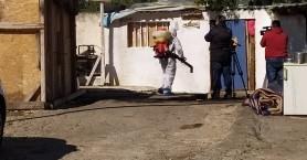 Πραγματοποιήθηκε η απολύμανση των καταυλισμών Ρομά στα Χανιά