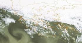 Υψηλές θερμοκρασίες και αφρικανική σκόνη στην Κρήτη