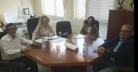 Σύσκεψη στα γραφεία της 7ης ΥΠΕ για την κοινότητα των Ρομά στο Ηράκλειο