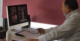 Mέσω τηλεδιάσκεψης συνεδρίαση στην ΠΕΔ Κρήτης