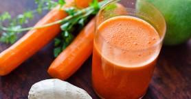 Smoothie με καρότο και τζίντζερ για ισχυρό ανοσοποιητικό